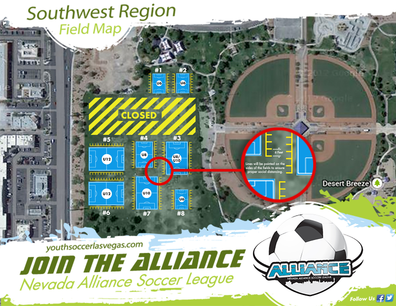 Southwest Field Map